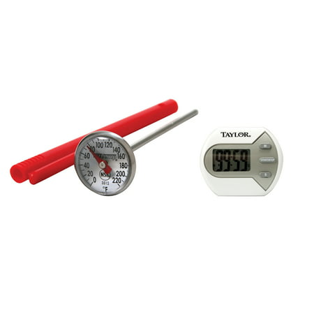 Read Dial Thermometer - Taylor Precision Products 5806 Digital Timer & 3512 Instant Read 1