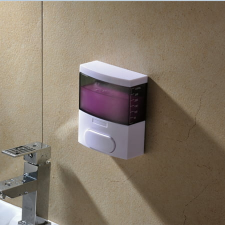 New Soap Dispenser Manual Wall Mounted Hand Sanitizer Liquid Box Bathroom Pump - Hand Sanitizer Wall Mount Dispenser