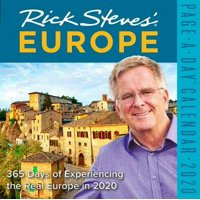 2020 Rick Steves Europe Colour Page-a-day Calendar