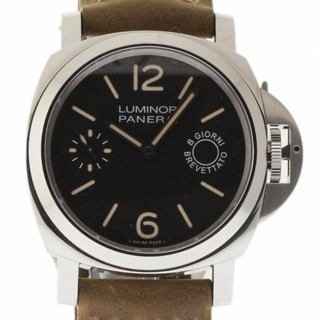 Panerai Marina - Pre-Owned Panerai Luminor Marina PAM00590 Steel  Watch (Certified Authentic & Warranty)