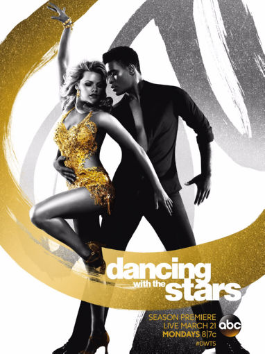 Dancing With The Stars Poster Metal Sign 8inx 12in by