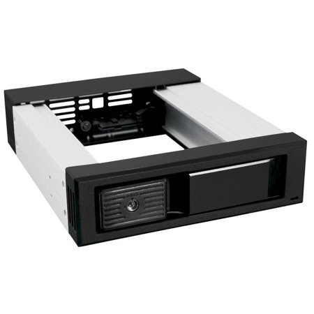 "Aluminum Single Bay Hot Swap Mobile Rack For 3.5"" SSD/HDD, Internal SATA Hard Drive Backplane Enclosure w/Fan, Support SATA I/II/III & SAS I/II 6Gbps and.., By Kingwin Channel Hot Swap Hard Drive"
