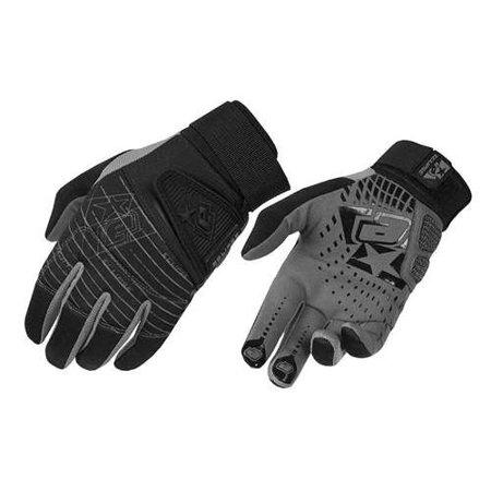 2013 Planet Eclipse GEN2 Full Finger Distortion Paintball Gloves Black - Medium