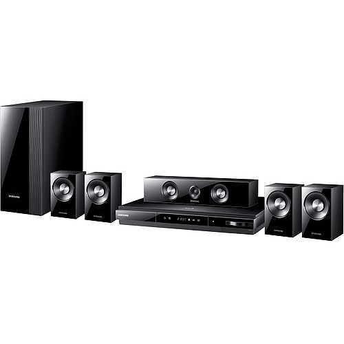 Samsung Ht - d5300 3d Wi - fi Ready Home Theater System