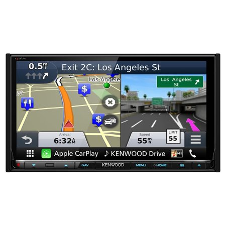 Remanufactured  Kenwood Dnx893s  6 95 Excelon Double Din Av Navigation System With Bluetooth