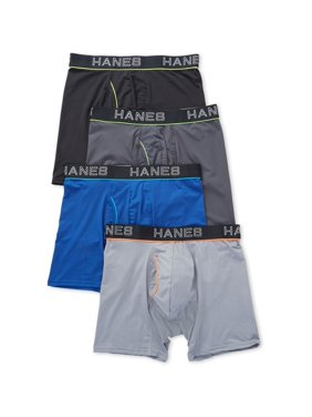 Product Image Men s Hanes UWBBB4 Ultimate ComfortFlex Fit Boxer Briefs - 4  Pack 016ac0b3107