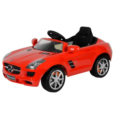 Best ride on cars 12v battery powered mercedes sls amg for Ride on mercedes benz toy car