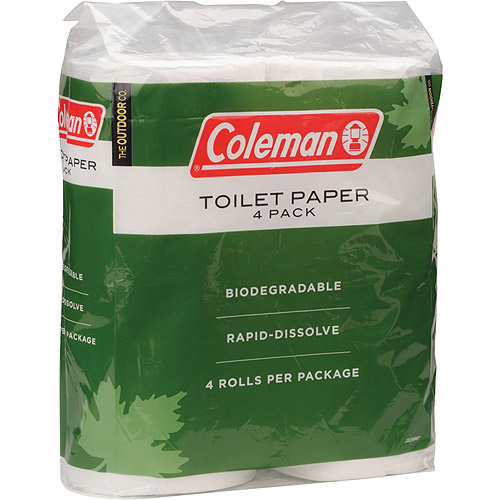 Coleman Biodegradable Toilet Paper (4-Pack)