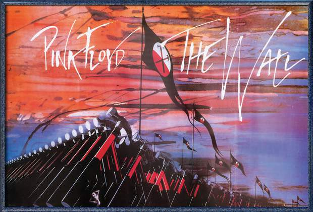 """Pink Floyd's The Wall Framed Music   Movie Poster (Marching Hammers) (Size: 36"""" x... by"""