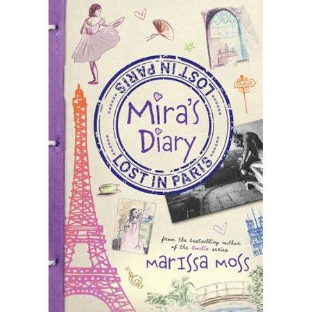 Mira's Diary: Lost in Paris - eBook