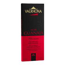 Valrhona French Chocolate - Dark Chocolate Guanaja 70% Cocoa Bar, 70g/2.46oz(Single)