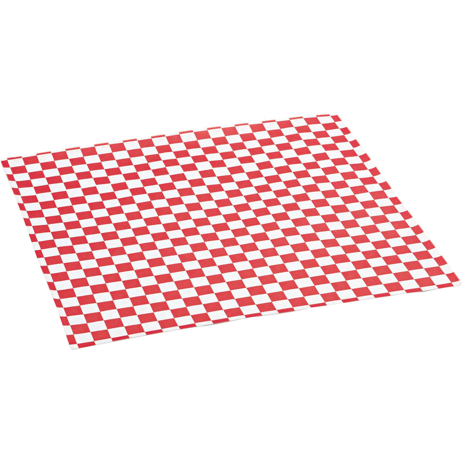 Bagcraft Papercon Red Checkered Grease-Resistant Paper Wrap/Liners, 1000 count, (Pack of 5)