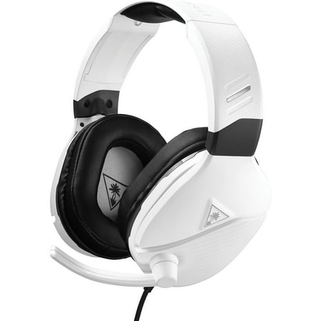 Recon 200 Wired Stereo Gaming Headset, White, Turtle Beach, Xbox One and PlayStation 4, 731855032204