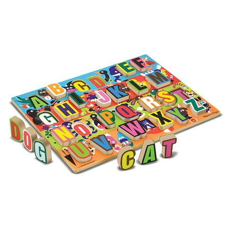Jumbo Numbers Wooden Chunky Puzzle (JUMBO ABC CHUNKY PUZZLE)