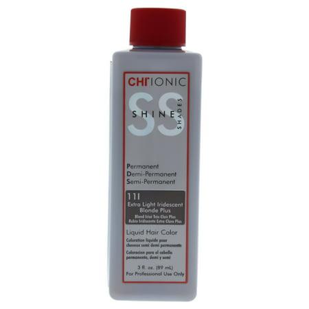CHI Ionic Shine Shades Liquid Hair Color - 11I Extra Light Iridescent Blonde Plus - 3 oz Hair