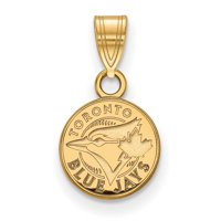 Toronto Blue Jays Women's Gold-Plated Sterling Silver Extra-Small Pendant