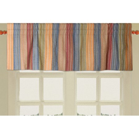 Greenland Home Fashions - Katy Quilted Valance - 16L x 84W i