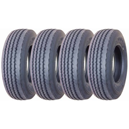 Set of 4 New TRIANGLE 215/75R17.5 16 Ply Rated Deep Tread All Position Truck/trailer Radial Tire - 11027