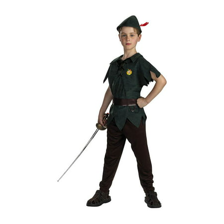 Peter Pan Classic Child Halloween - Peter Pan Funny Costume
