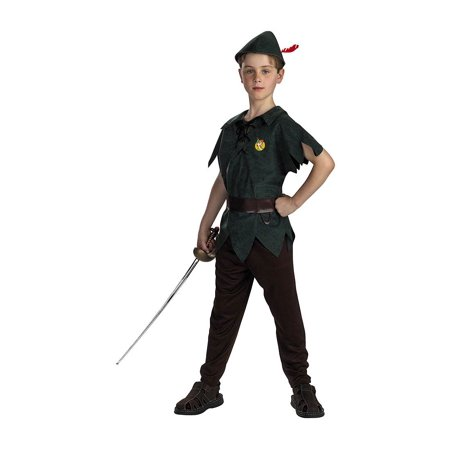 Peter Pan Classic Child Halloween Costume - Disney Peter Pan Halloween Costumes
