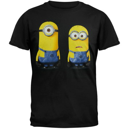 Despicable Me - Stand Tall Soft Adult T-Shirt (Tall Minion)