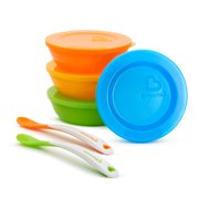5 Pack Multi Plates By Munchkin Moderate Cost Cups, Dishes & Utensils Bowls & Plates