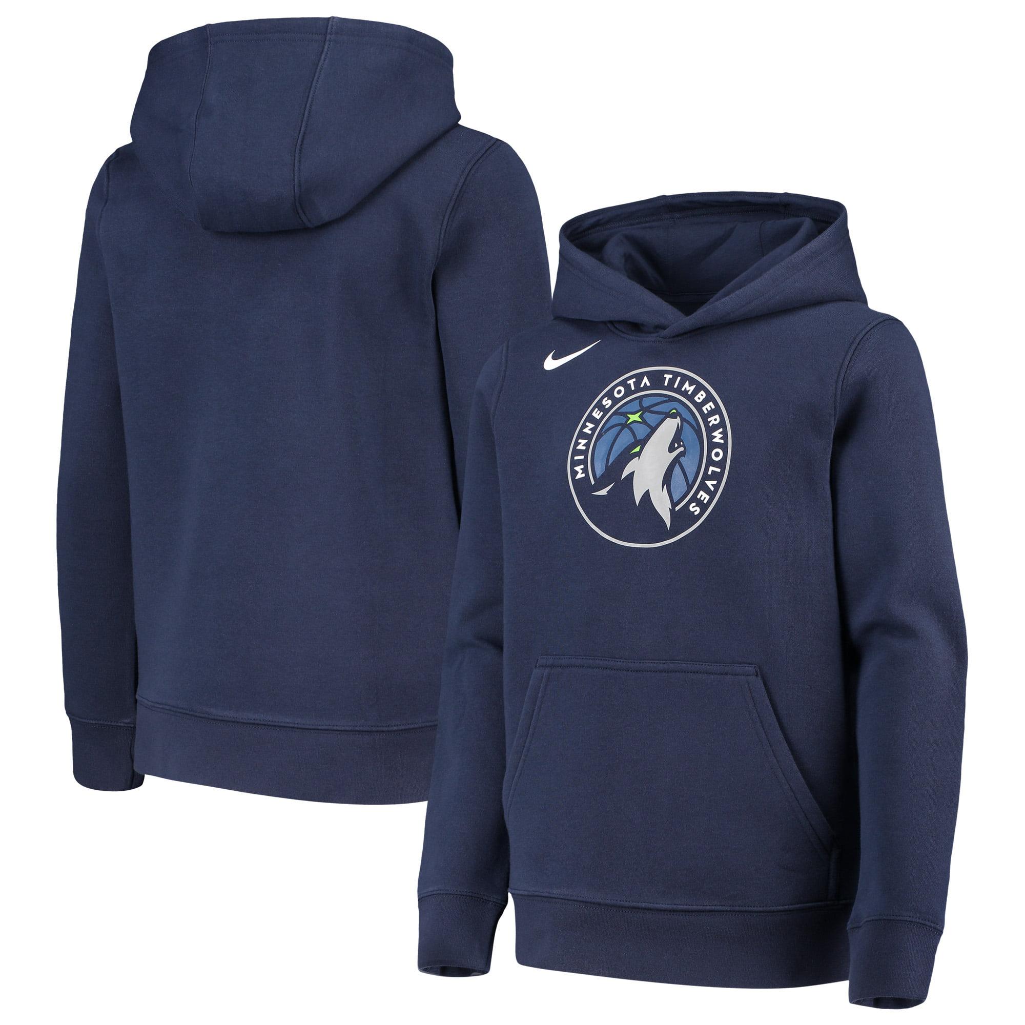 Minnesota Timberwolves Nike Youth Essential Logo Hoodie - Navy