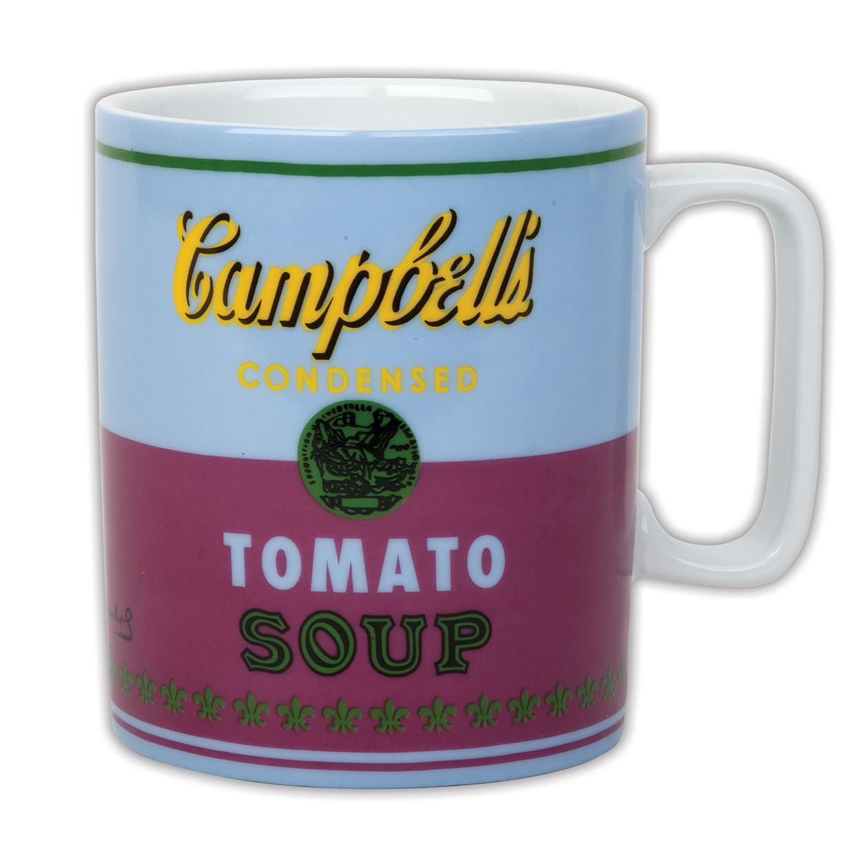 Andy Warhol Campbell's Soup Red Violet Mug (Other)