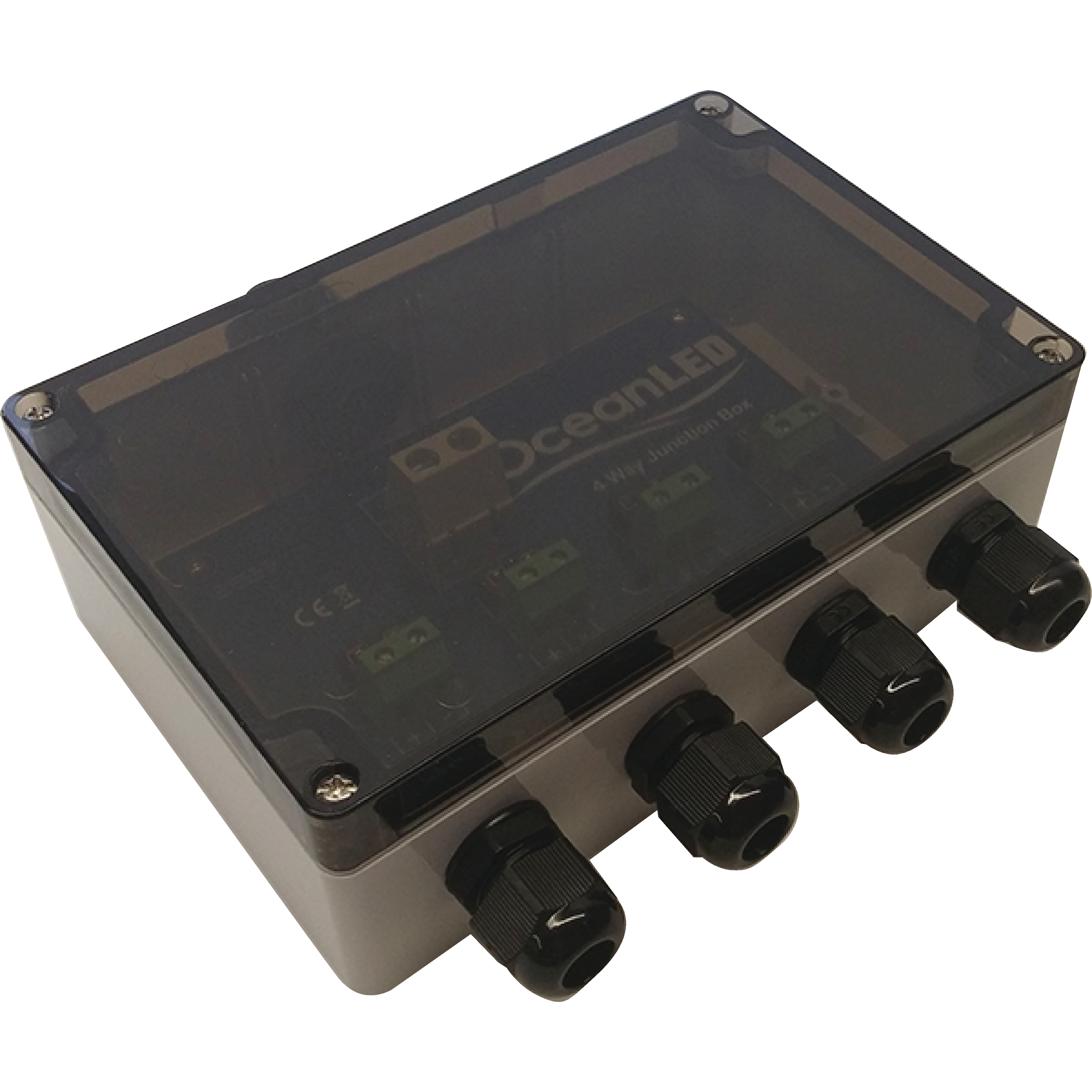 Ocean LED 019901 Standard 12/24V 4-Way Junction Box