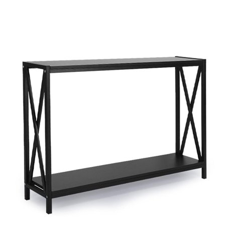 NOREF Side Table, Vintage Console Table Entry Way Console Table Sturdy Metal Frame for Hallway, Foyer, Living Room, Sofa Table Console Table Slim Sofa Entryway Table, Console Table Entry Table ()