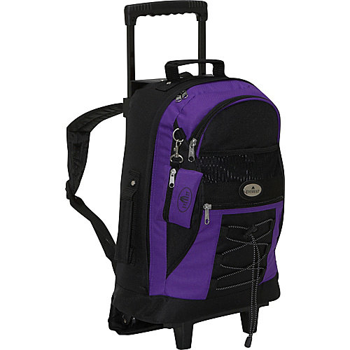 Everest Wheeled Backpack with Bungee Cord