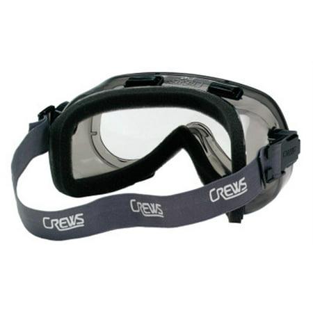 Elastic Foam Strap - Verdict Goggles, Clear/Gray, Scratch Resistant, Foam Lining, Elastic Strap