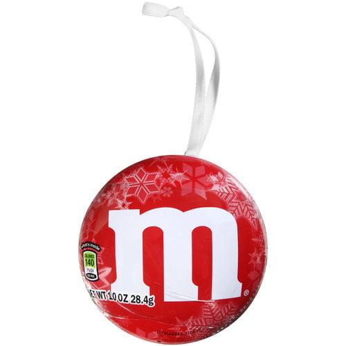 M&M's Milk Chocolate Candies Christmas Ornament, 1 oz