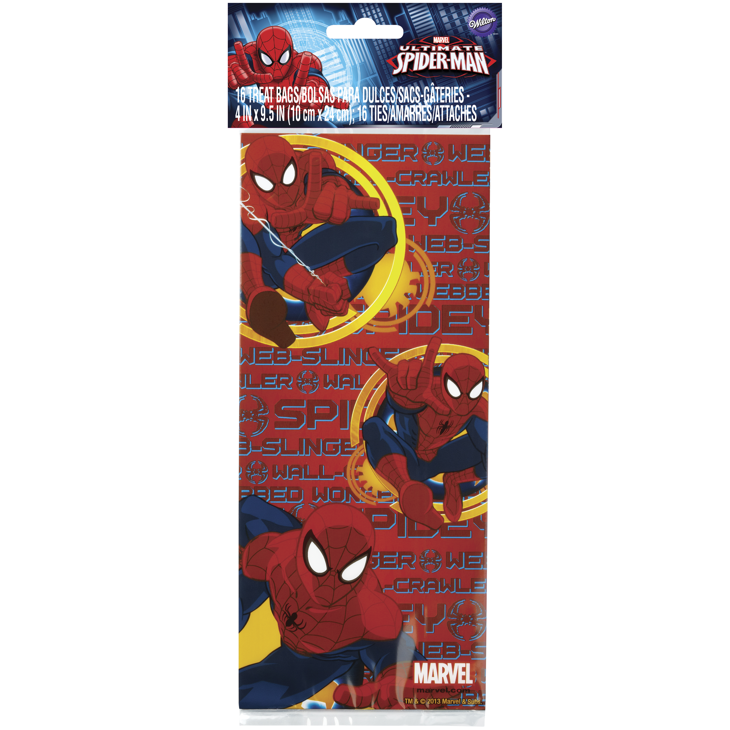 Wilton Spider-Man Ultimate Treat Bags, 16 count