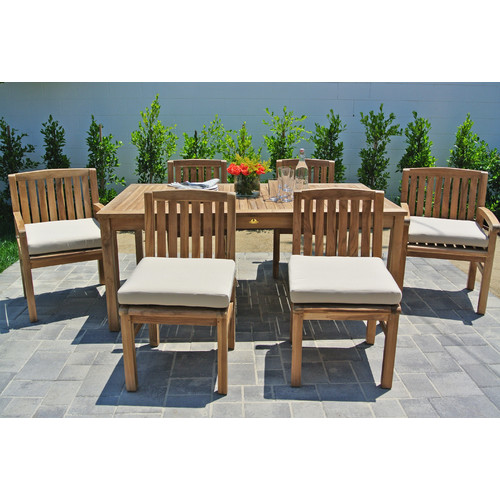 Willow Creek Designs Huntington 7 Piece Dining Set With