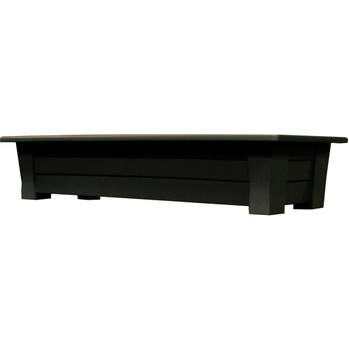 "Adams 36"" Deck Planter, Earth Brown by Adams Manufacturing"