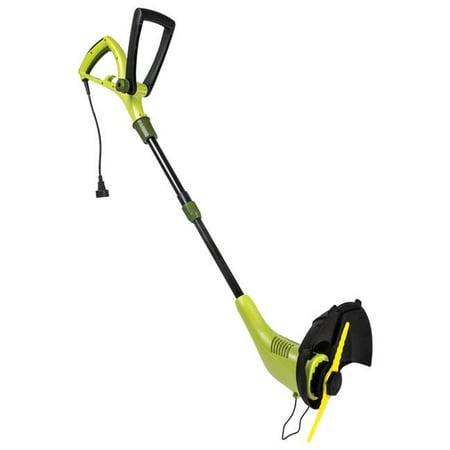 4.5 amp Electric Sharper Blade 2-in-1 Stringless Lawn Trimmer & Edger - 12.6