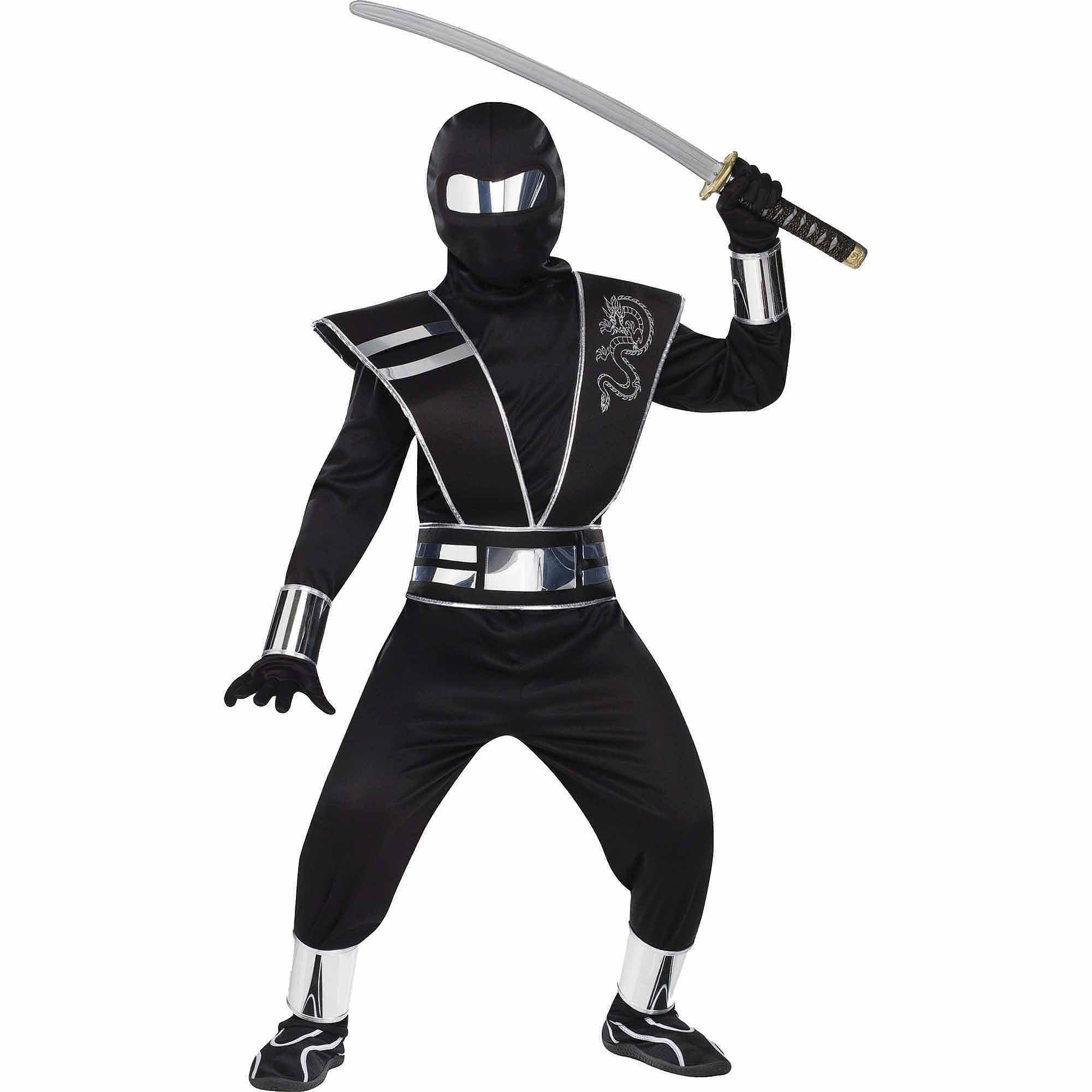 Boys Ninja Warrior Costume X-Small