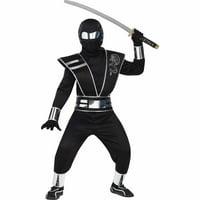 Silver Mirror Ninja Child Halloween Costume