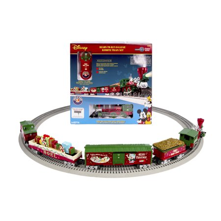 Lionel O Scale Disney Mickey's Holiday to Remember with Remote Electric Powered Model Train Set ()