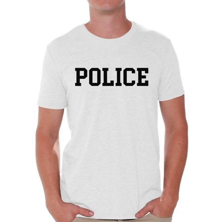 Awkward Styles Police Tshirt for Men Police Men's Shirt Police Gifts for Him Law Enforcement T (Law Enforcement Folder)