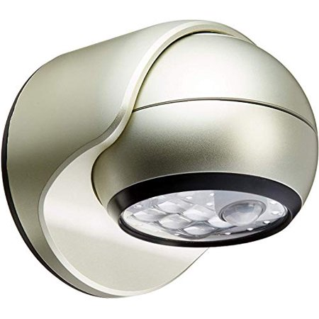 Image of Light It! By Fulcrum, 6-LED Motion Sensor Security Light, Wireless, Battery Operated, Silver