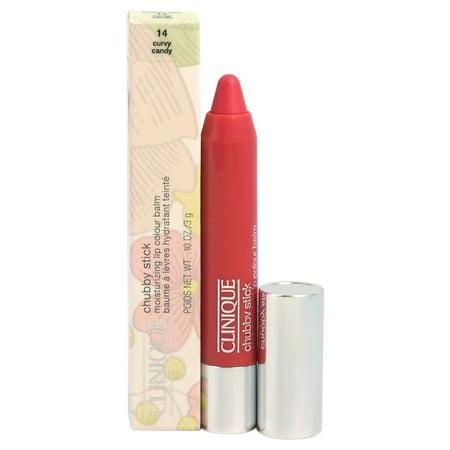 Chubby Stick Moisturizing Lip Colour Balm - # 14 Curvy Candy by Clinique for Women - 0.1 oz Lipstick