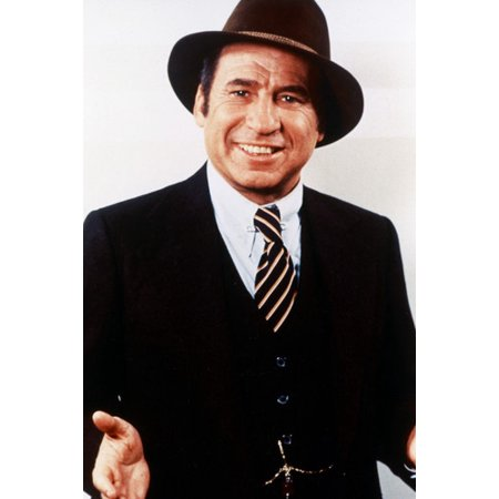 Mel Brooks 24x36 Poster classic pose in suit and hat - Brooks Suit