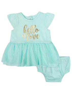 6c257b968d0 Product Image Tulle Dress and Diaper Cover Outfit Set