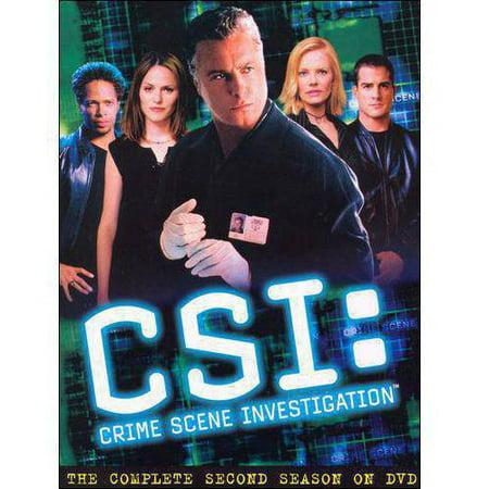Csi  Crime Scene Investigation   The Complete Second Season  Widescreen