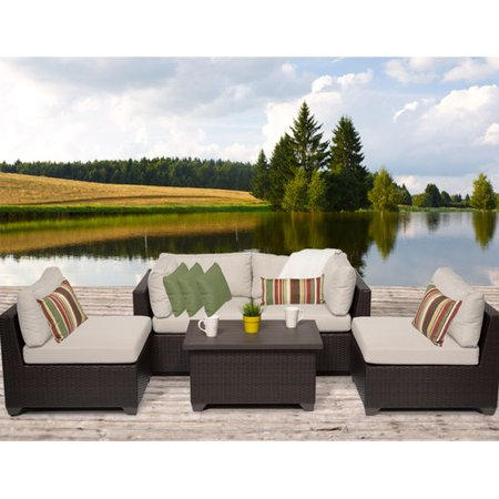 Sol 72 Outdoor Fernando 5 Piece Sofa Seating Group With Cushions