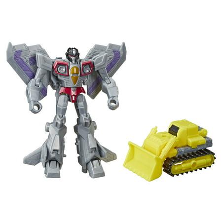 Transformers Toys Cyberverse Spark Armor Starscream Action