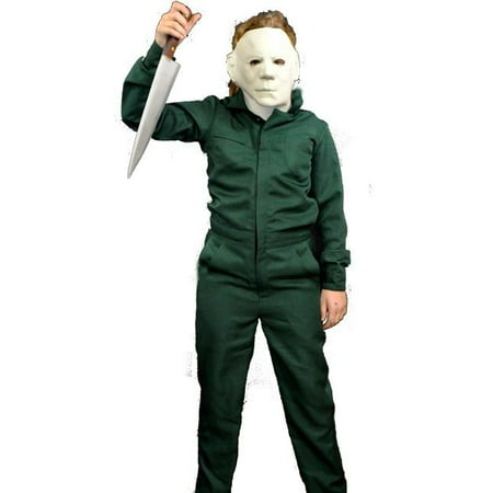 TRICK OR TREAT Child Halloween 2 Deluxe Coveralls Michael Myers Costume TTUS123](Halloween Sing Along Trick Or Treat)