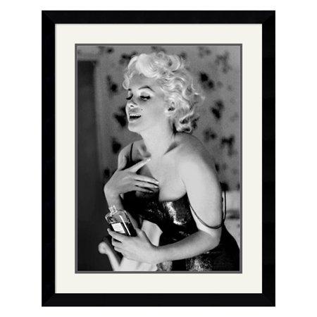 Marilyn-Monroe-Chanel-No-5-Framed-Wall-Art-by-Ed-Feingersh-28-37W-x-35-87H-in-